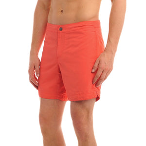 "Aruba 6.5"" Papaya Orange Swim Trunks"
