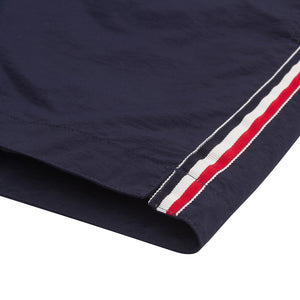 "Aruba 6.5"" Navy French Stripes"