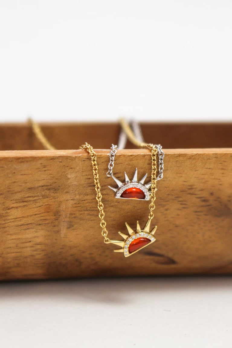 Sunrise Charity Necklace