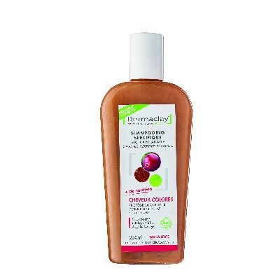 Shamp Cheveux Colores 250ml Dermaclay