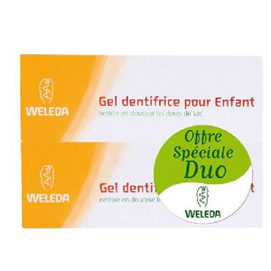 Duo Gel Dentifrice Enfant 2x50 Ml   Weleda