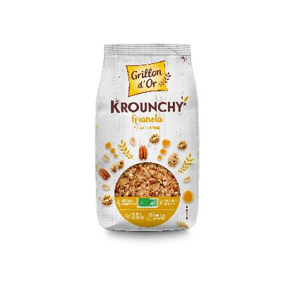 Krounchy Granola 500g Grillon Or