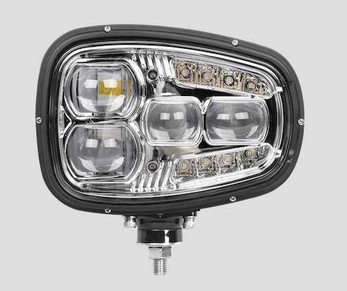TORRID SERIES: LED HEATED PLOW HEADLIGHTS (PAIR)