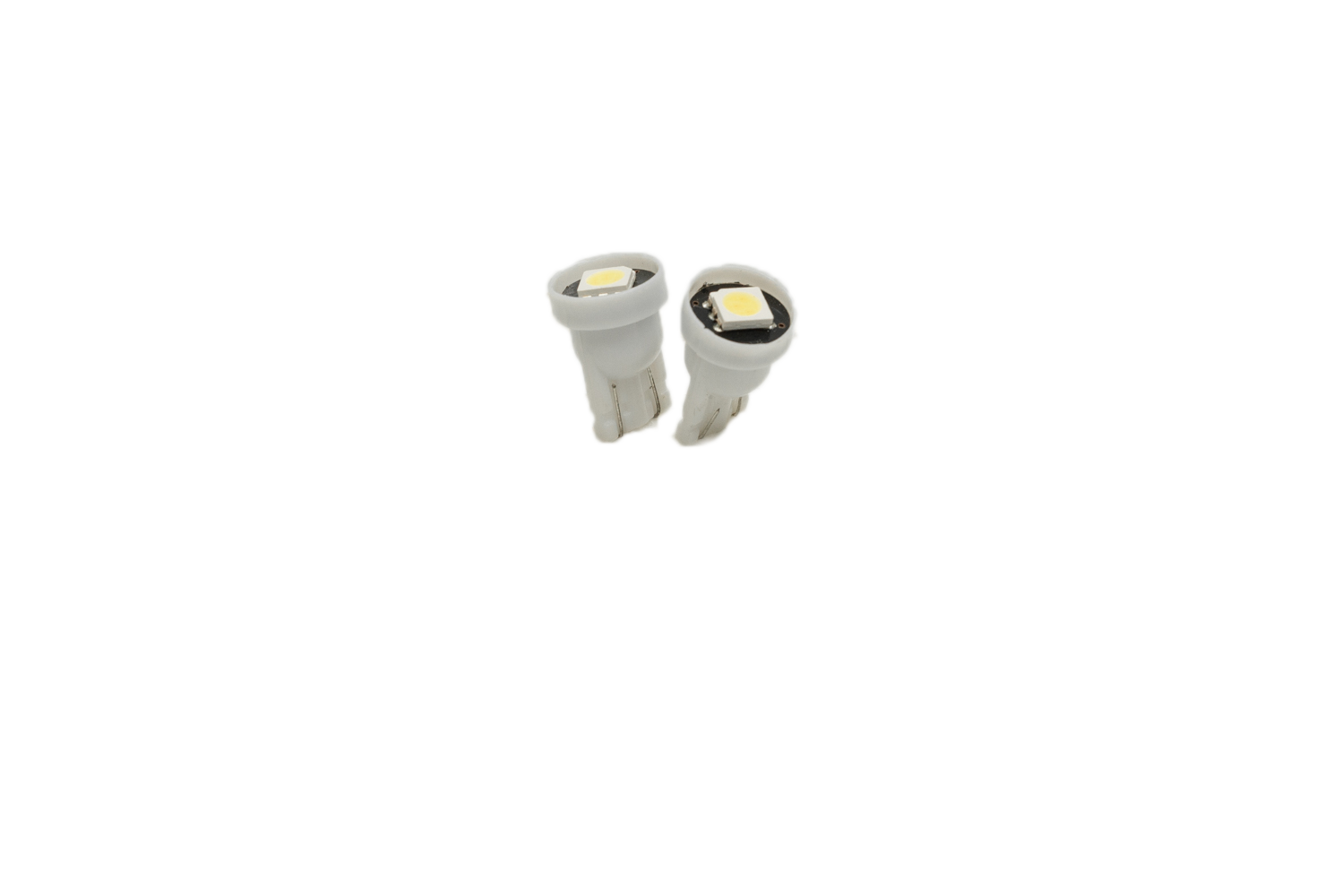 LONG LASTING LED BULBS: MINIATURE 194 WHITE (PAIR)