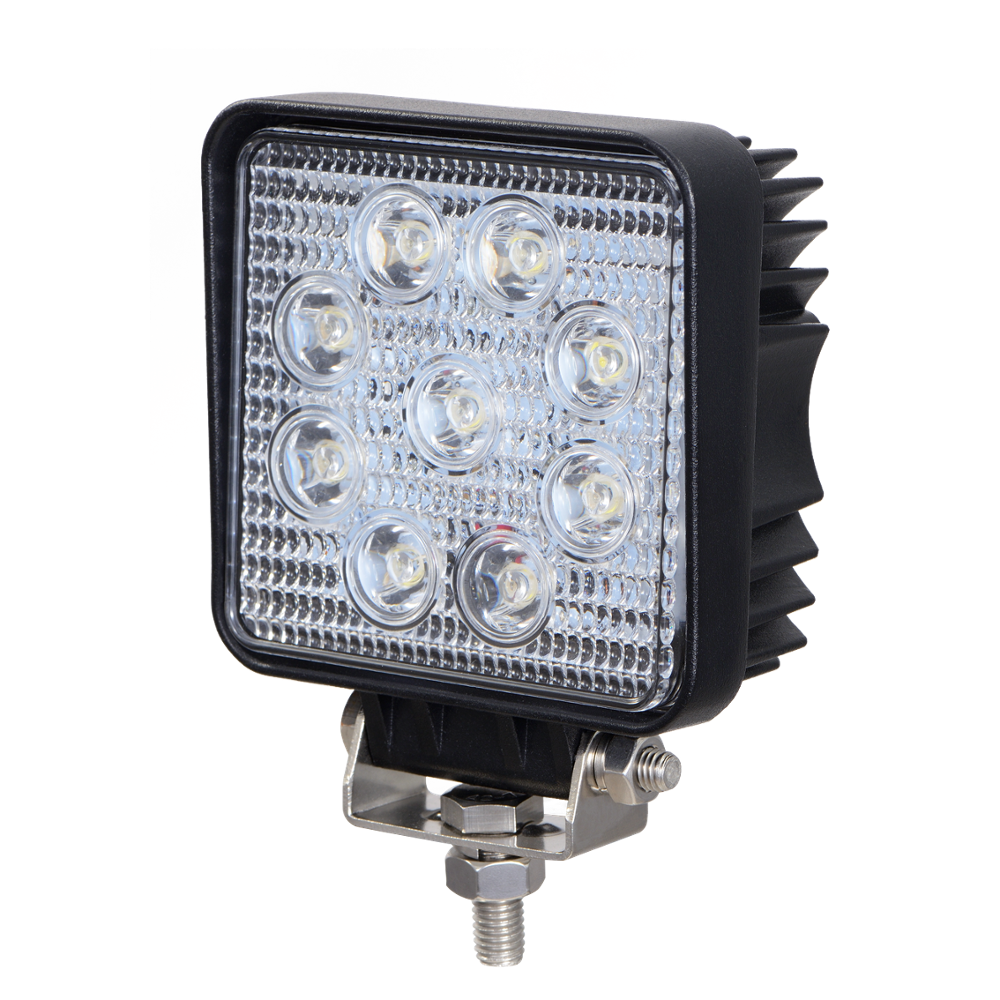 "LED WORK LIGHT: 4"" SQUARE - SPOT"