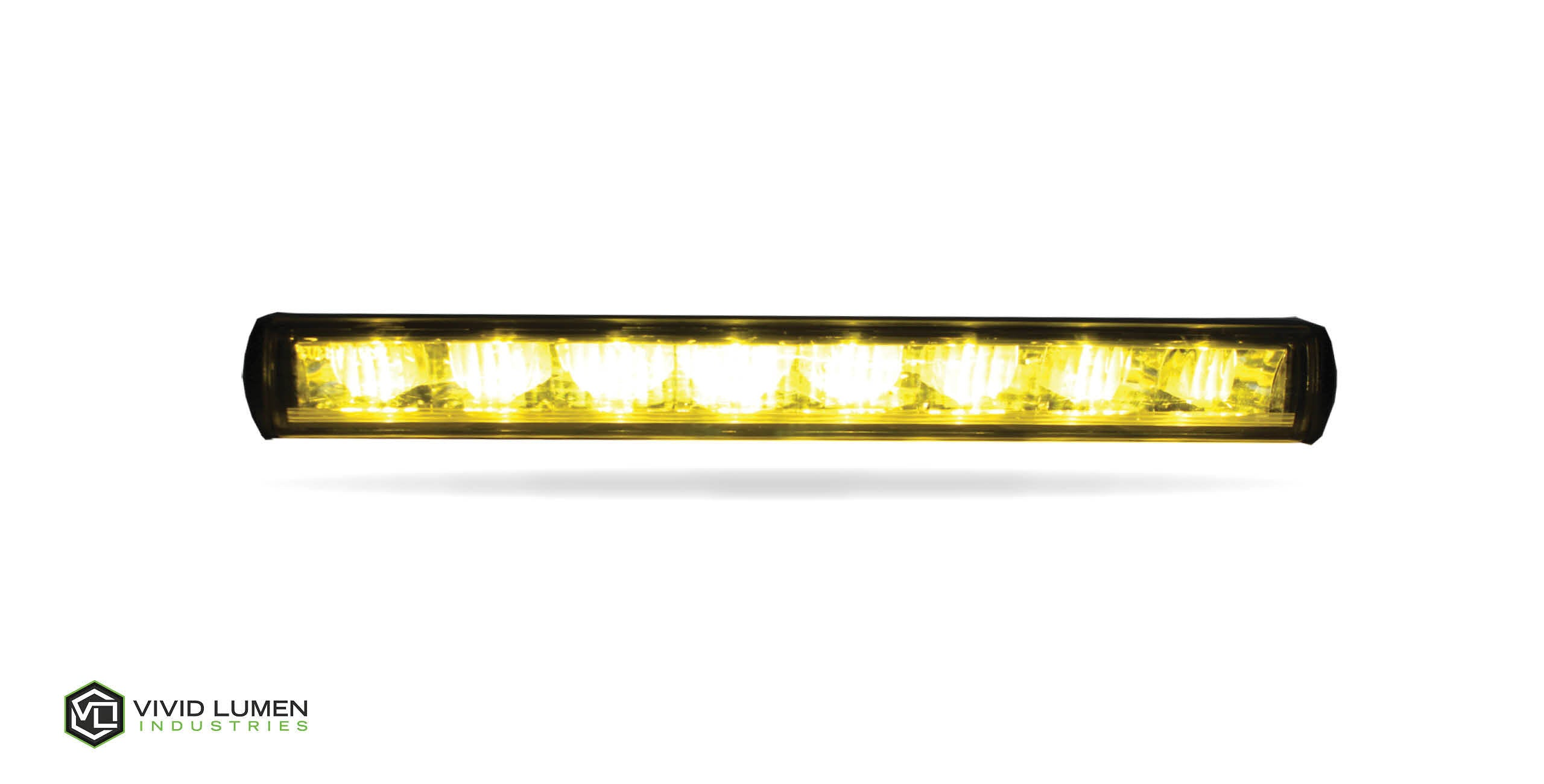 "V-SPEC STREET LEGAL: 14"" DRIVING LIGHT BAR SAE/DOT (AMBER)"