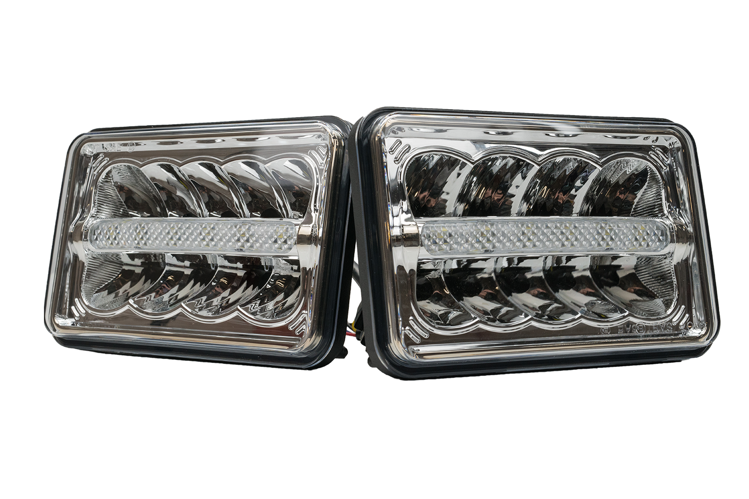 "VH1 SERIES: 4"" X 6"" LED REFLECTOR HEADLIGHT - LOW BEAM (PAIR)"