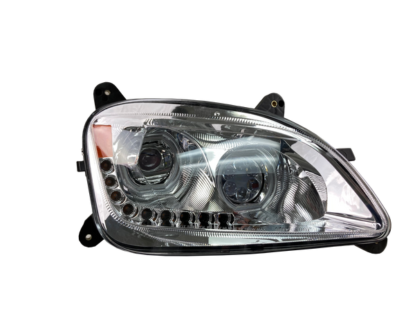 BRILLIANT SERIES: PETERBILT 579 LED PROJECTOR HEADLIGHT PASSENGER 2012-2021