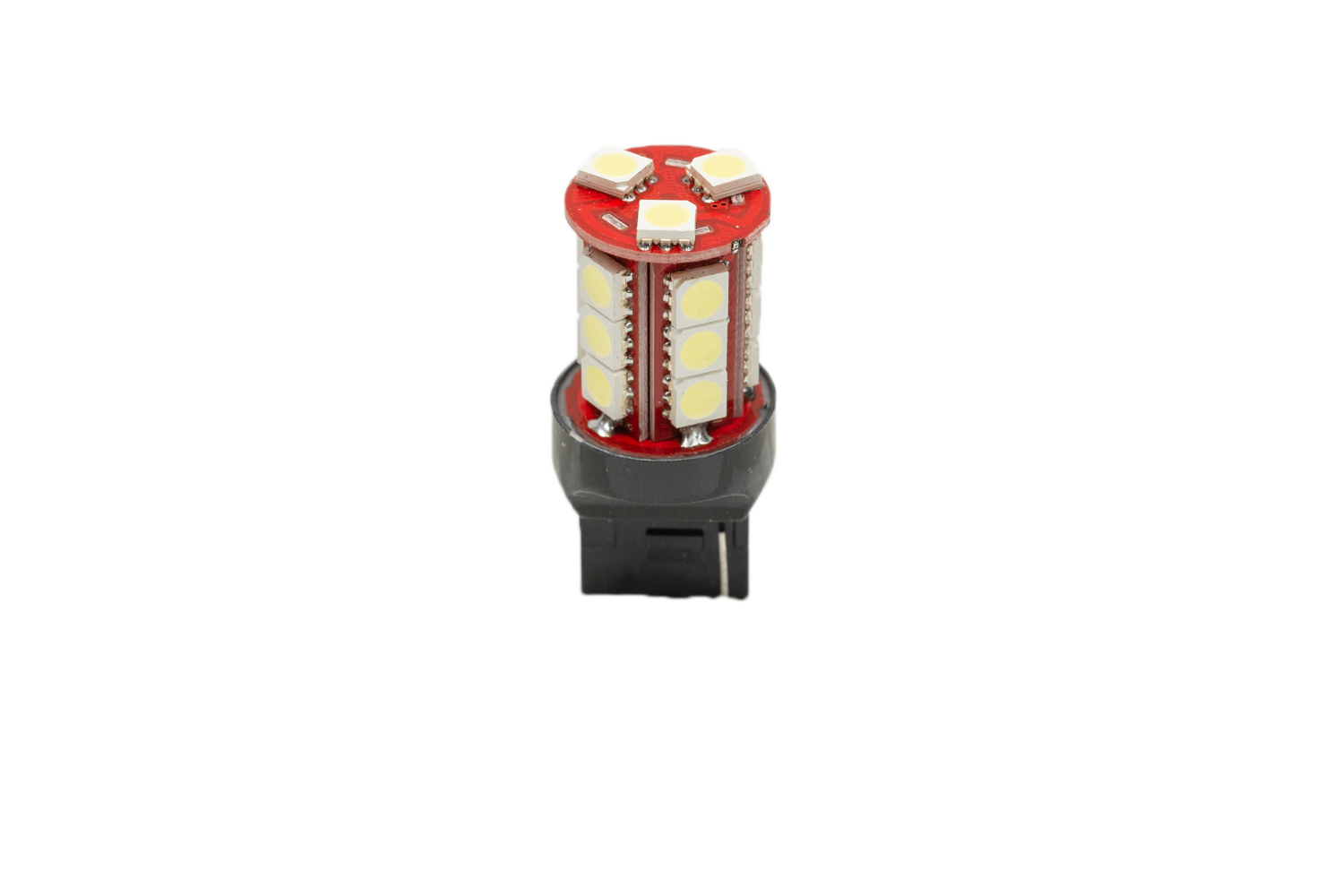 LONG LASTING LED BULBS: 7440 RED (PAIR)