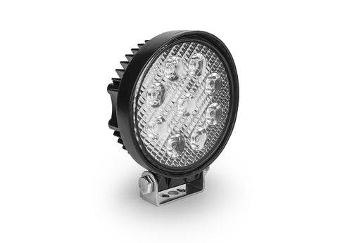"INDUSTRIAL SERIES LED WORK LIGHT: 4"" ROUND - FLOOD"
