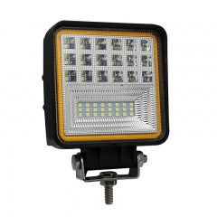 "DUAL COLOUR SERIES LED WORK LIGHT: 4"" SQUARE - FLOOD"