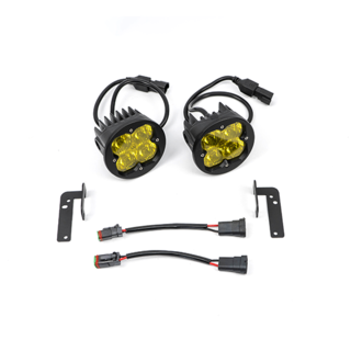 FNG SAE FOG LIGHT KIT: JEEP JK AMBER 07-18