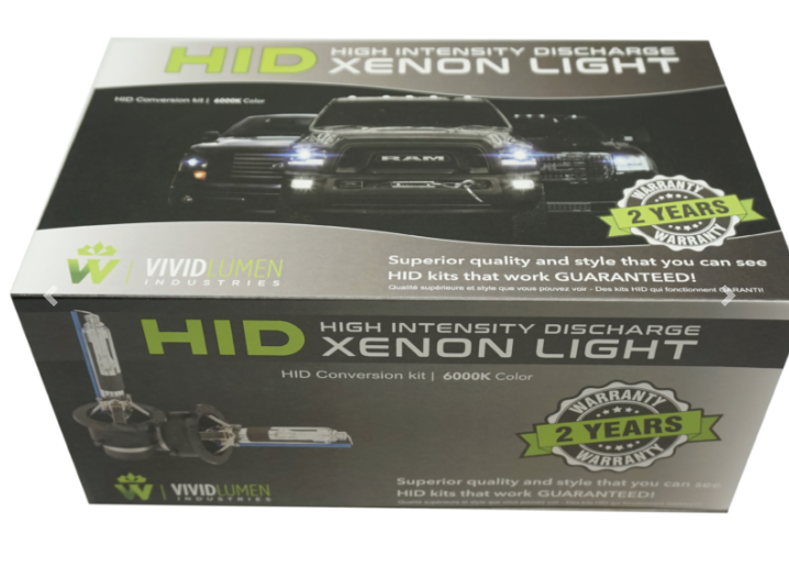 HID KIT: H4 BULBS WITH BALLASTS (PAIR)