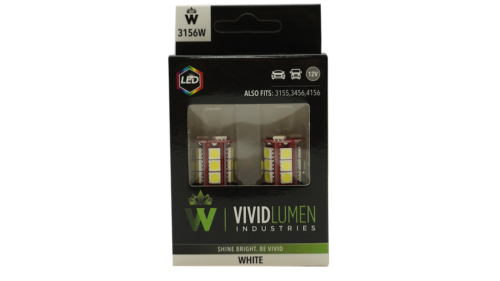 3156W: WHITE LONG LASTING LED BULBS