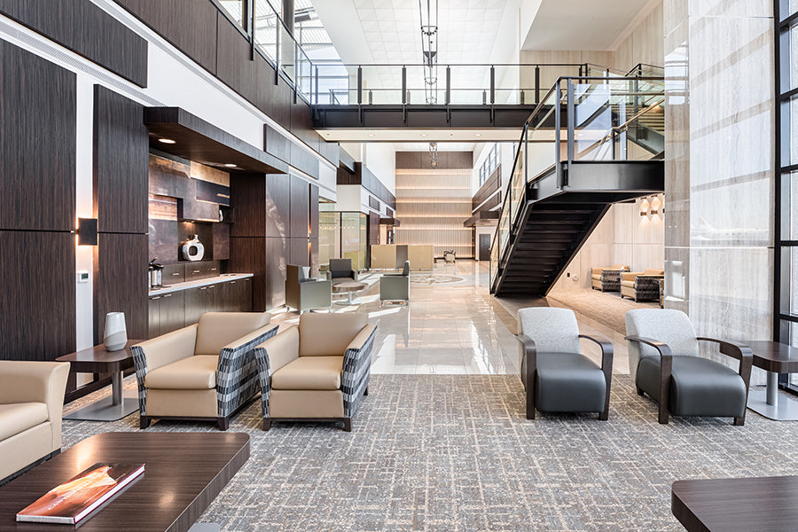 Sage Interiors Wraps Up Interior Design Work On Vegas FBO Renovation