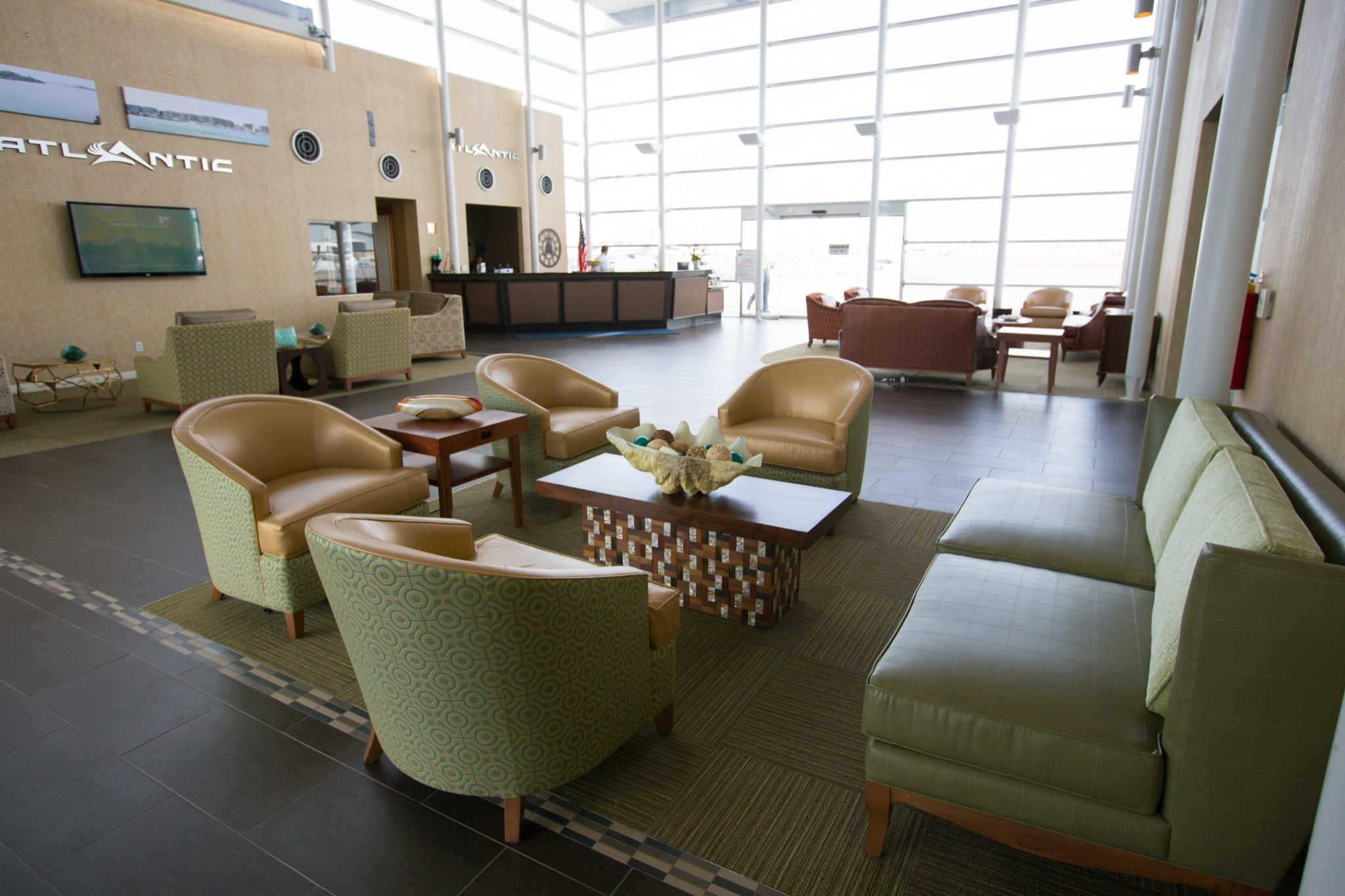 FBO interior in Los Angeles