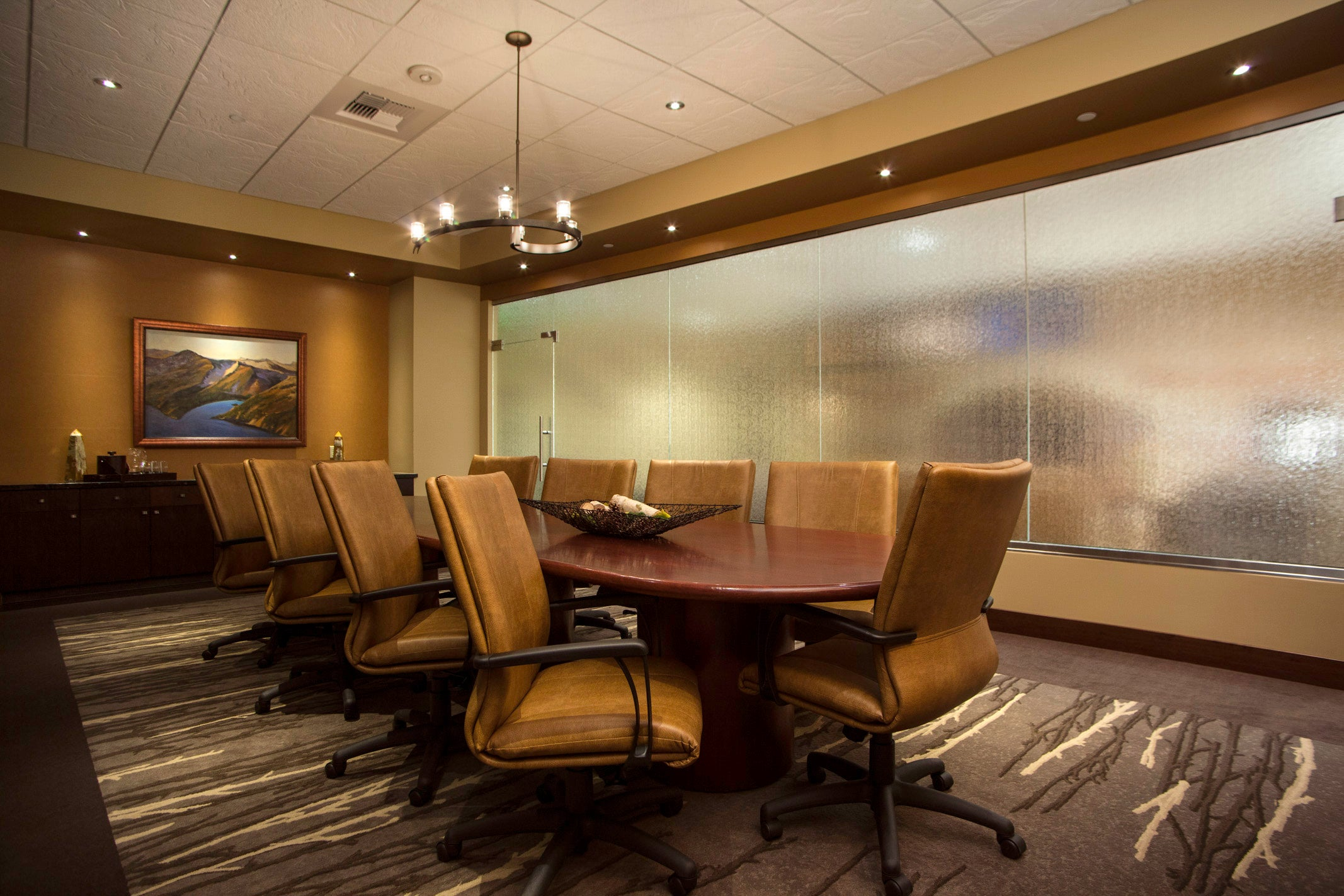 FBO conference room interior