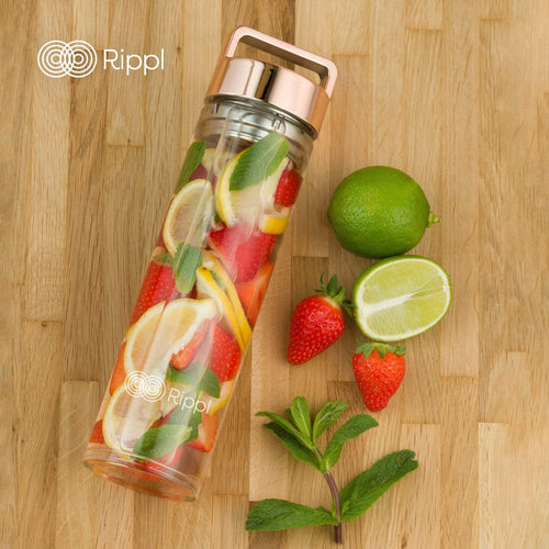 ripplshop Rippl Fruit & Tea infuser bottle