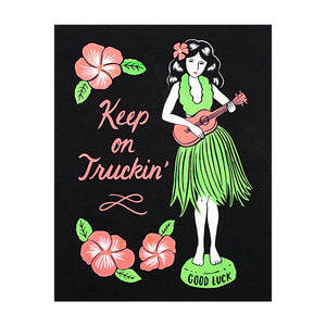 Hula Girl Screen Print