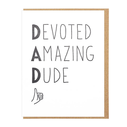 Devoted Amazing Dude
