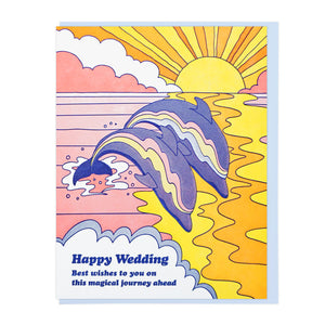 Happy Wedding Dolphins