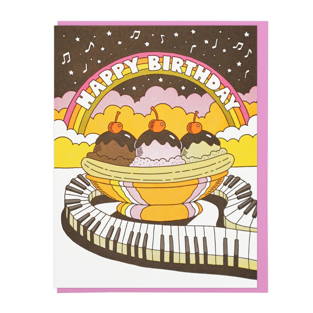 Happy Birthday Musical Banana Split