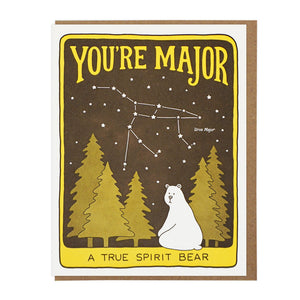 You're Major Ursa Major