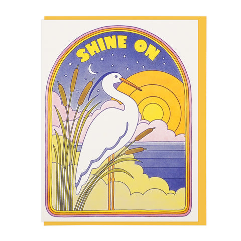 Shine On Heron
