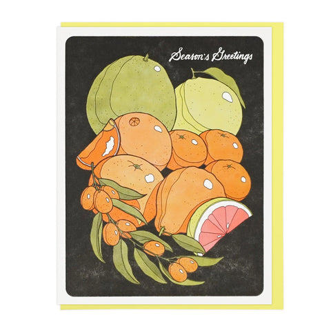 Season's Greetings Citrus Fruits