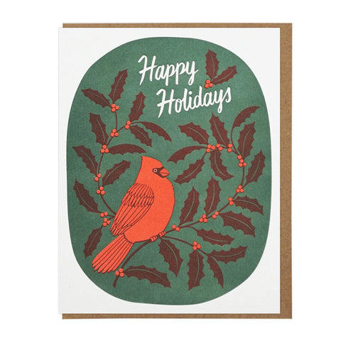Happy Holidays Cardinal