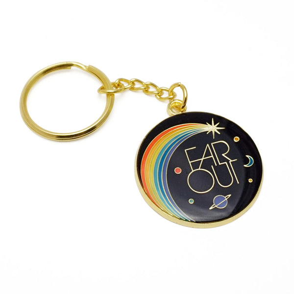 Far Out Keychain