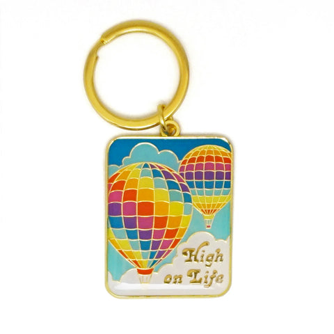 High On Life Keychain