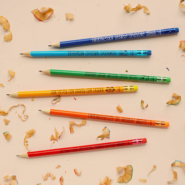 Friendly Reminders Round Pencils