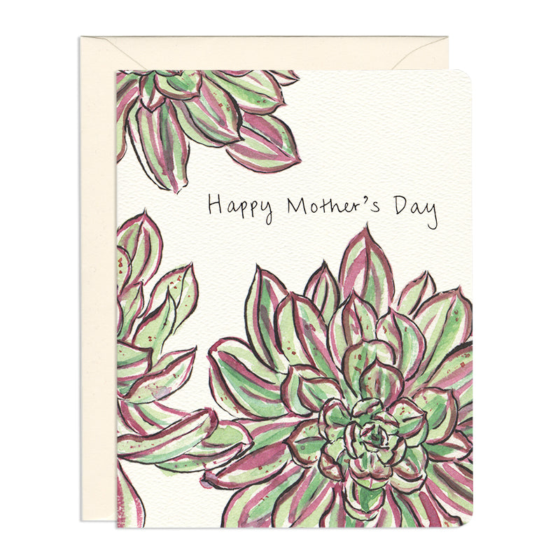 Succulent Mom Card