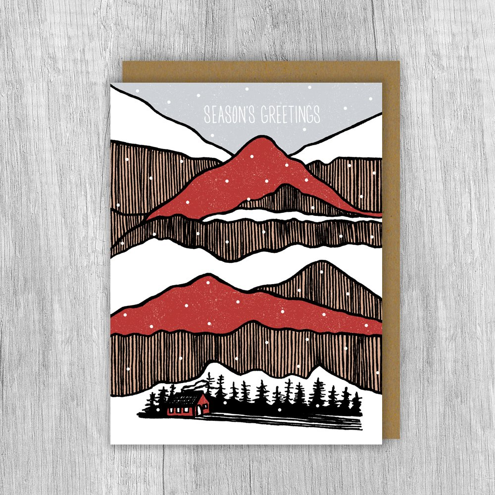 Mountain Stacks Card