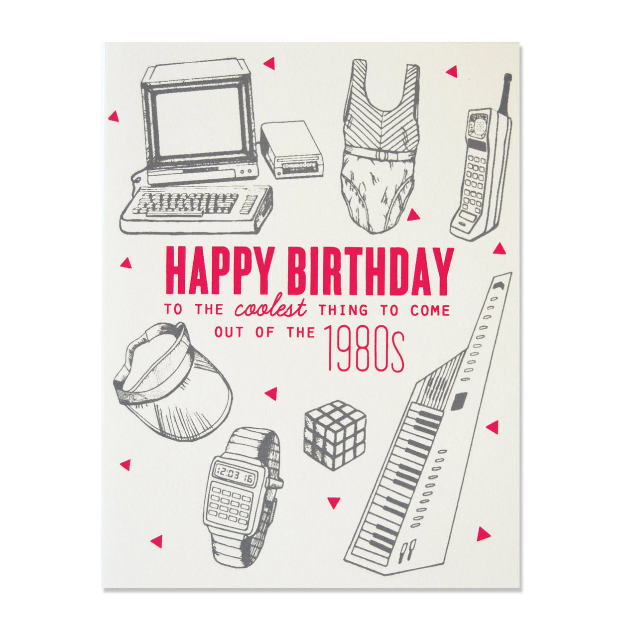 80s Birthday Card