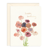 Birthday Poppies Card