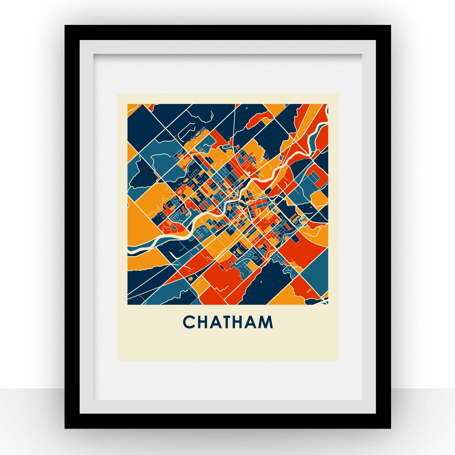 Chatham Map Print