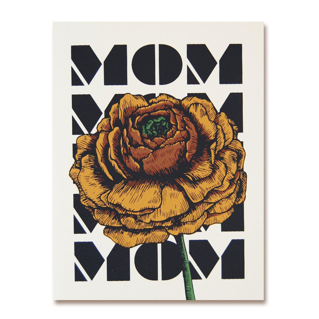 Ranunculus Mom Card