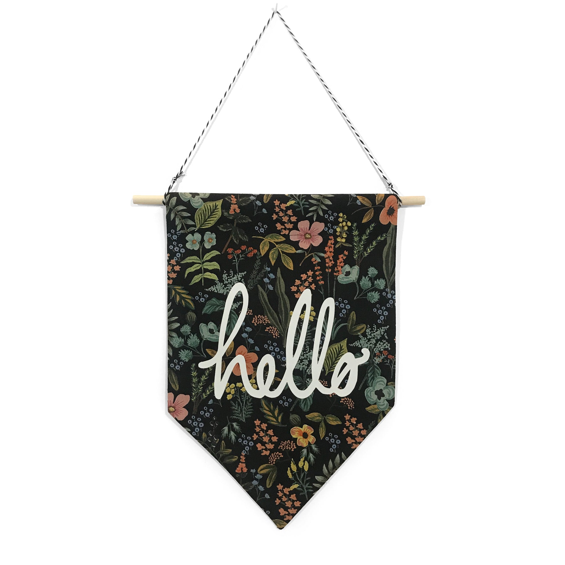 soft flirt x Spruce Moose Banner - Hello on Herb Garden - Dark
