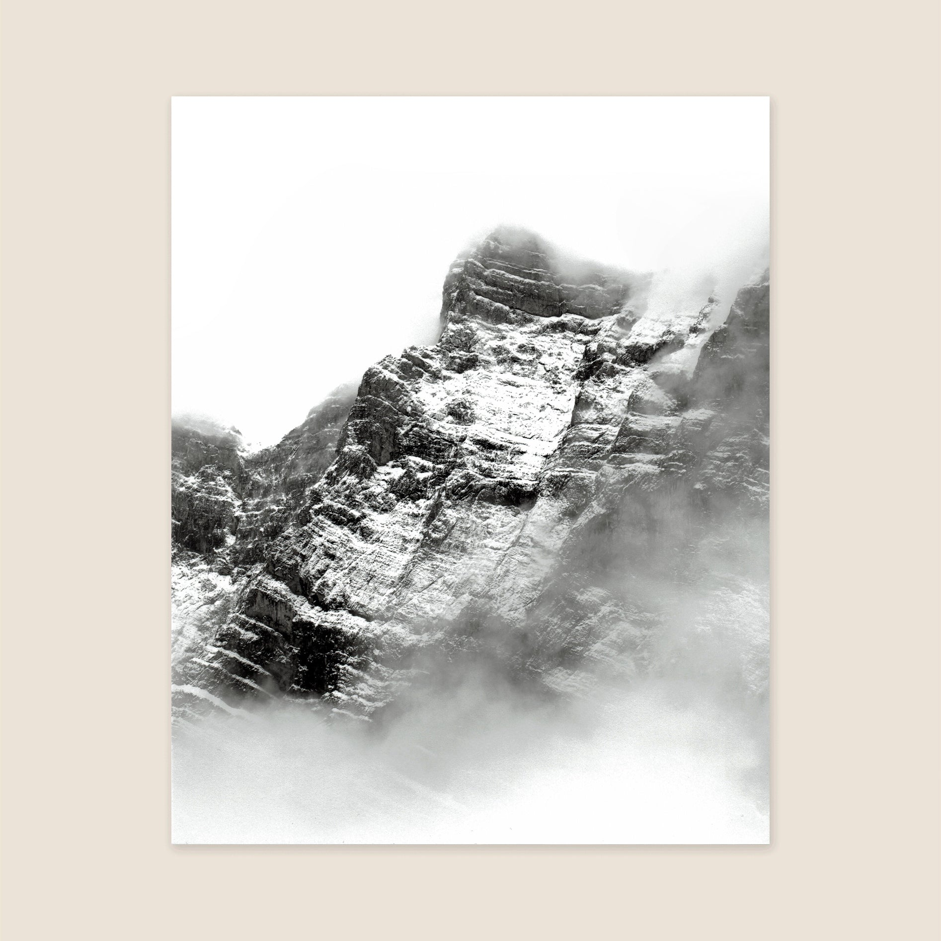 Misty Mountains Print