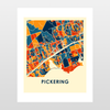 Pickering Map Print