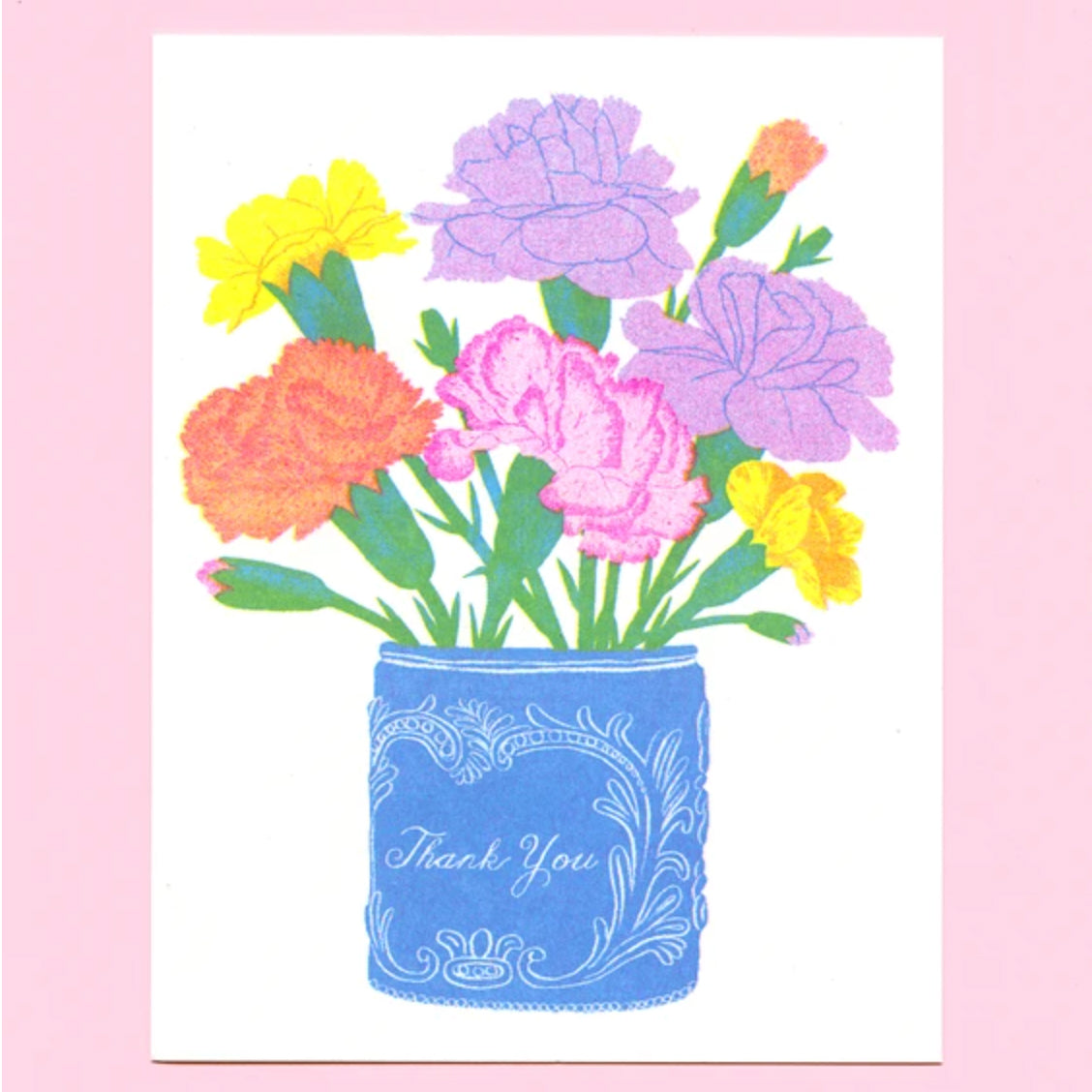 Posy Thank You Card