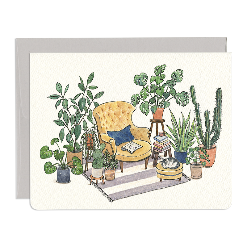 Reading Nook Card