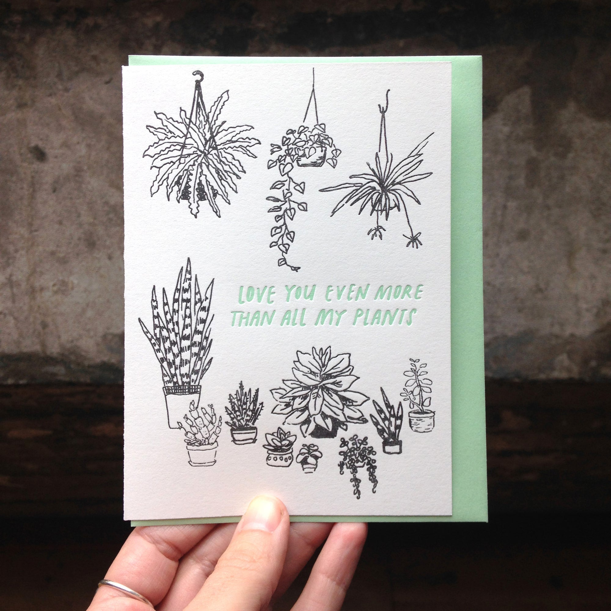 Love Plants Card