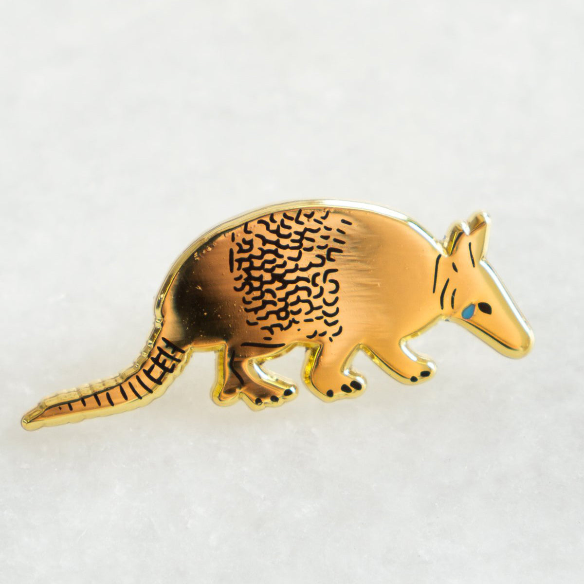 Sad Armadillo Pin