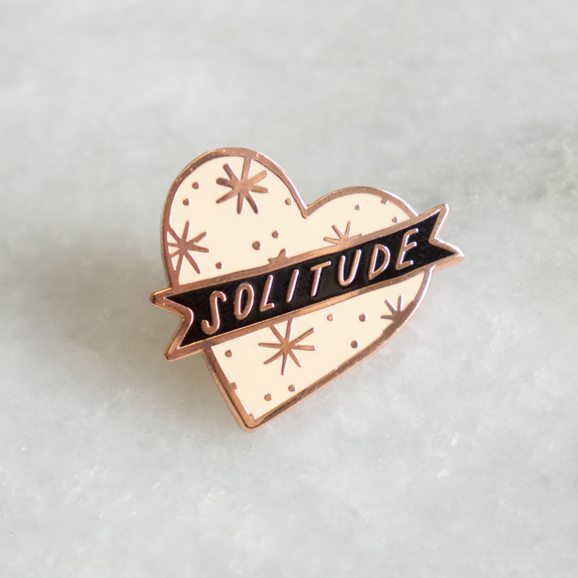 Solitude Pin