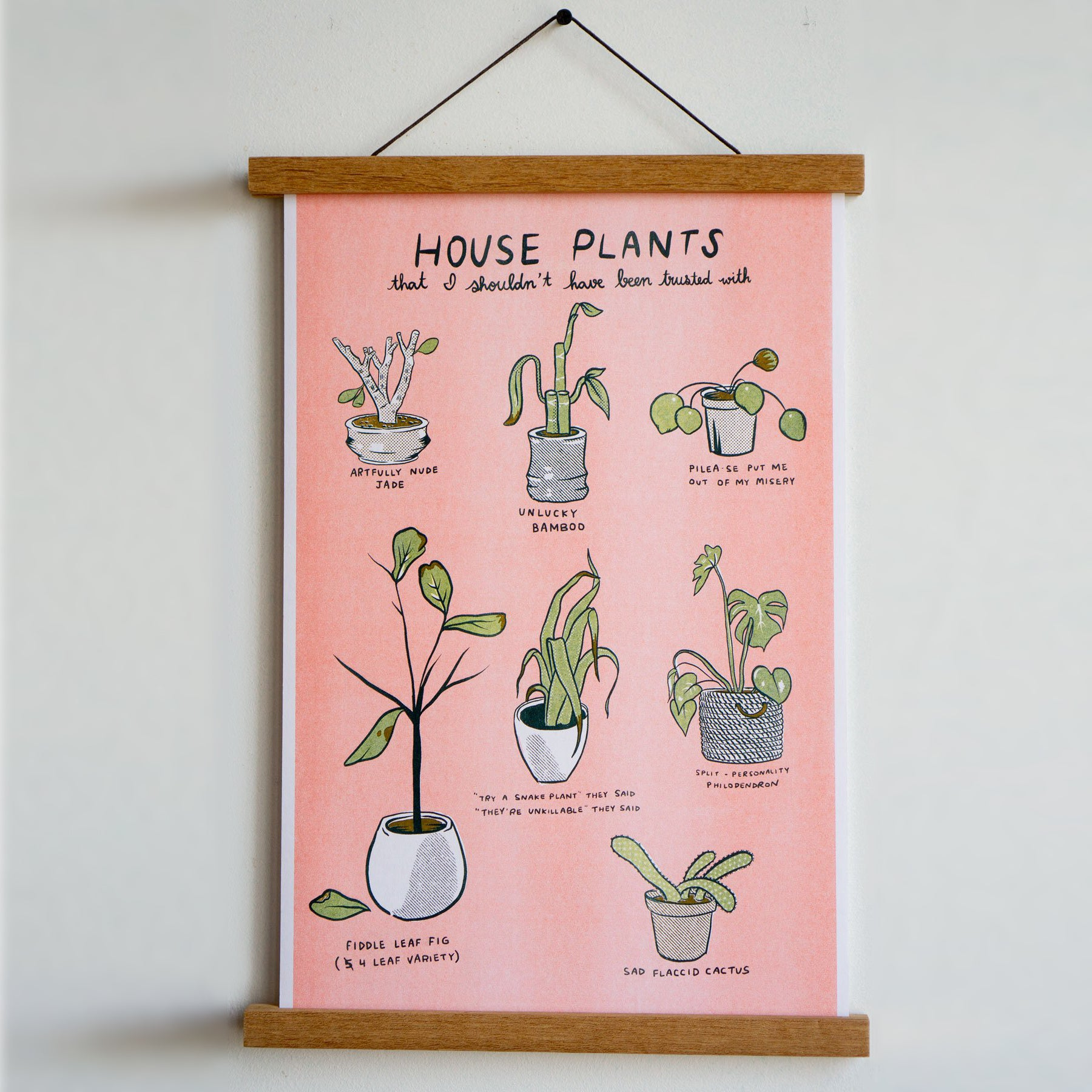 Unfortunate Plants Print