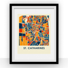 St. Catharines Map Print