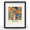 Vaughan Map Print